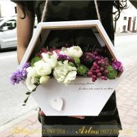 Hộp cắm hoa F012