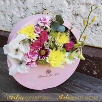 Hộp cắm hoa F003