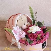 Hộp cắm hoa F007