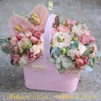 Hộp cắm hoa F008