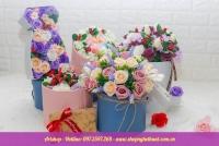 Hộp hoa sáp các loại bộ 3 cỡ