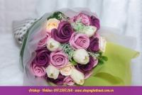 Hoa hồng sáp Hàn Quốc. Mã HS 120