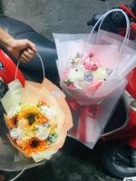 Túi đựng hoa sáp thành phẩm