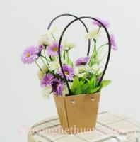 Hộp cắm hoa hình thang