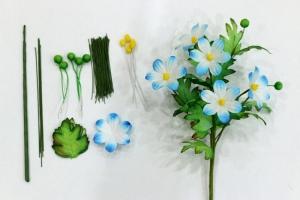 Cách làm hoa cúc bằng giấy 3D cực đẹp