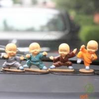 Bộ 4 chú tiểu múa võ Kung Fu