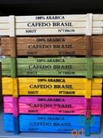 Hộp gỗ chữ nhật 22x8 ( nhiều màu )