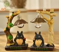 Totoro dưới đèn - Totoro gốc cây