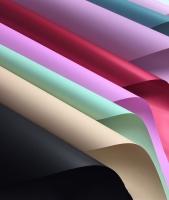 giấy gói hoa trơn đặc
