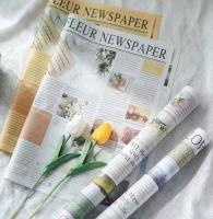 giấy gói hoa báo mới