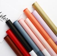 giấy gói hoa bóng mờ 2 màu
